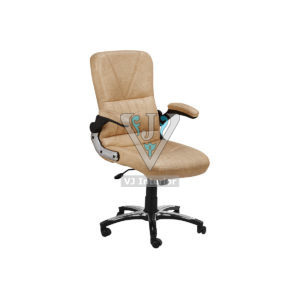 Leatherette Revolving Executive Office Chair