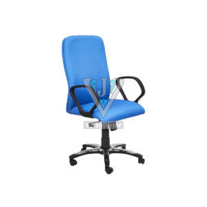 Blue Fabric revolving Executive Office Chair
