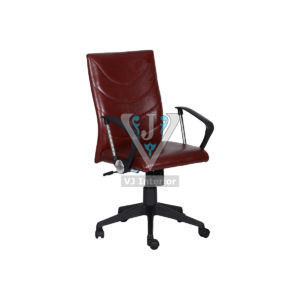 Synthetic Leather High Back Revolving Office Chair