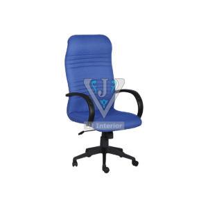 Blue Fabric Executive Revolving Chair