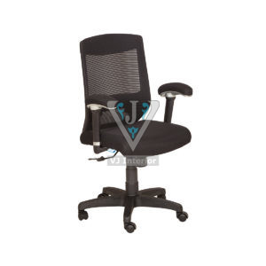 Black Wheelbase Mesh Office Chair