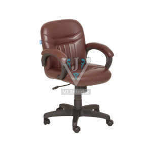 Non Adjustable Backrest Office Visitor Chair