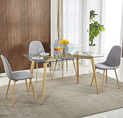 contemprary dining table