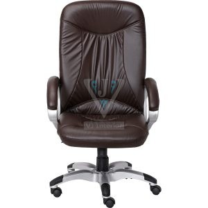 High Back Doblepiel Executive Chair In Brown Color