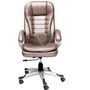 HIgh Back Office Executive Chair In Shining Fabric