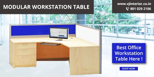 modular woekstation table